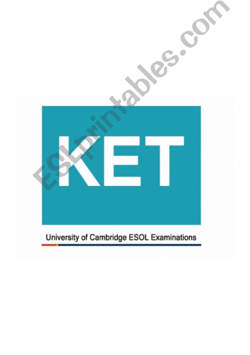 ESL - English PowerPoints: Ket Speaking