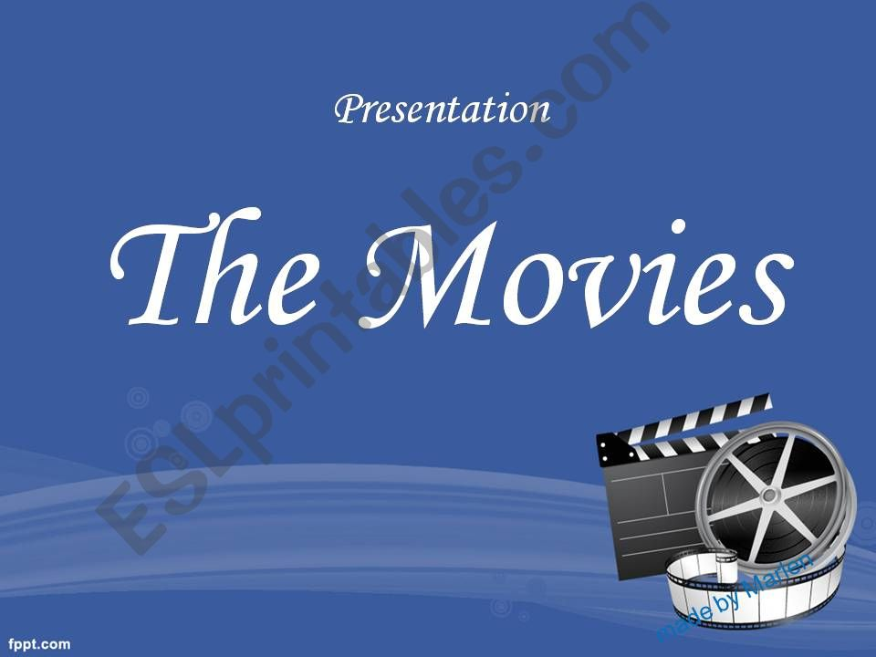 Movies genres powerpoint
