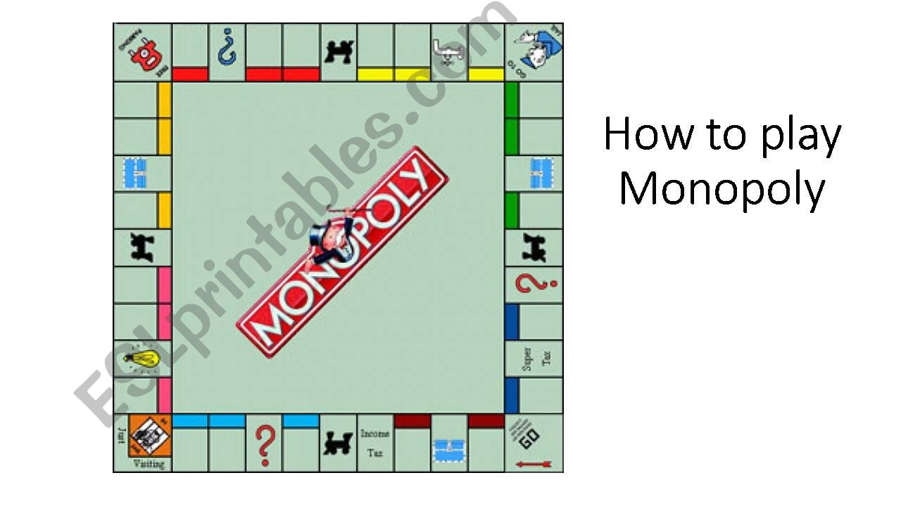 How to play the game of Monopoly
