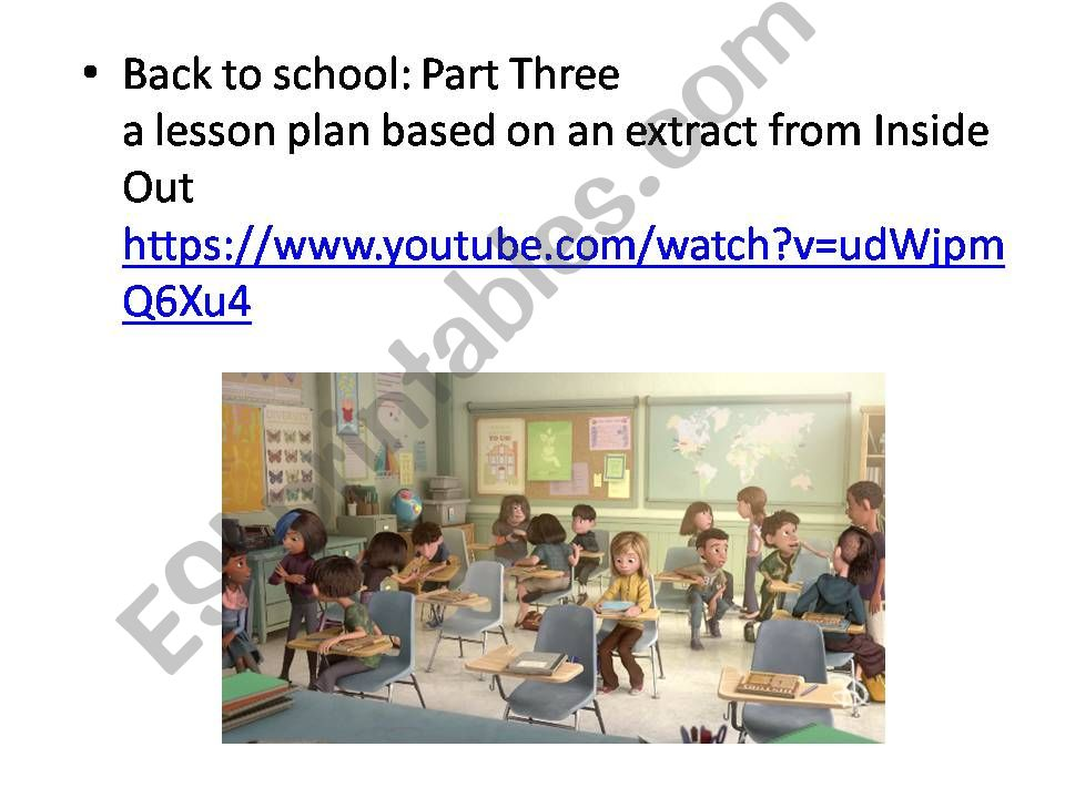 Back to School: Riley´s first day part 3