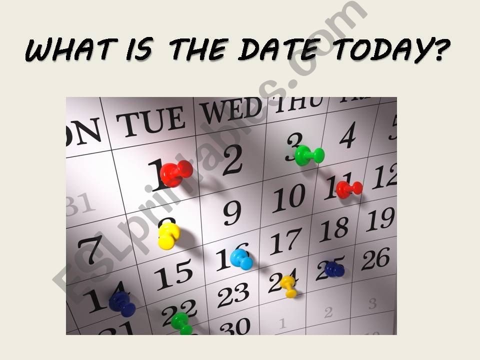 Today date what the id TODAY function