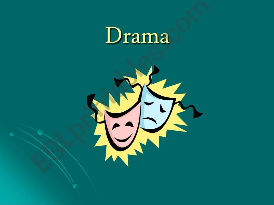 Introduction to Drama powerpoint
