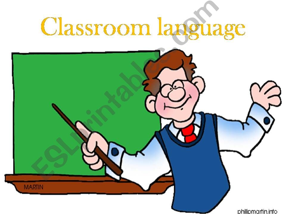classroom language , asking for help