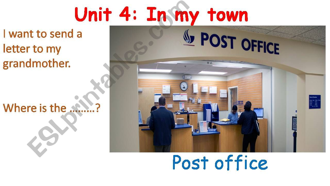 In My Town (2) powerpoint