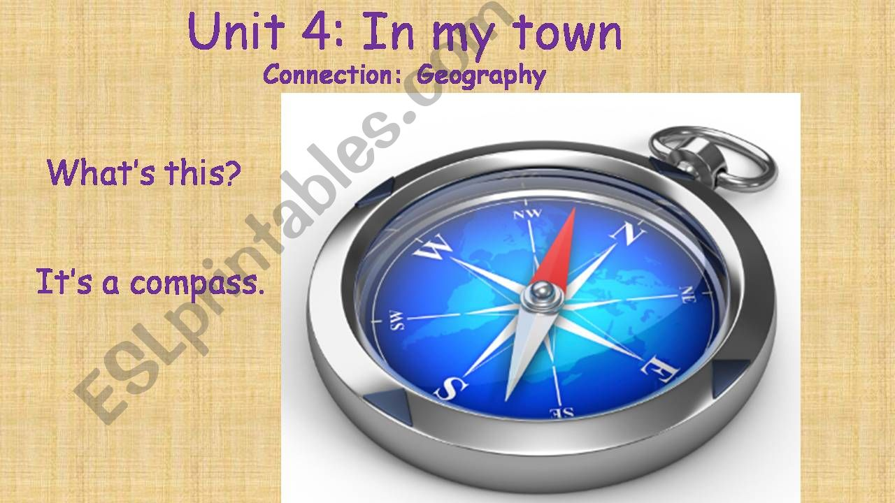 Geography- Directions powerpoint