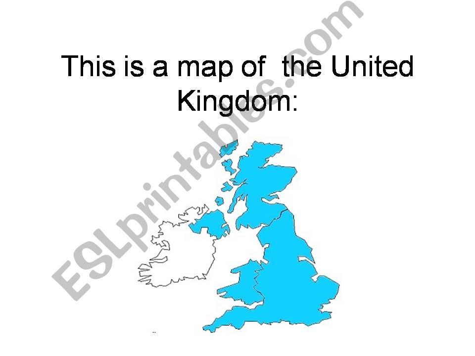 THE UNITED KINGDOM (13 slides) - CLIL