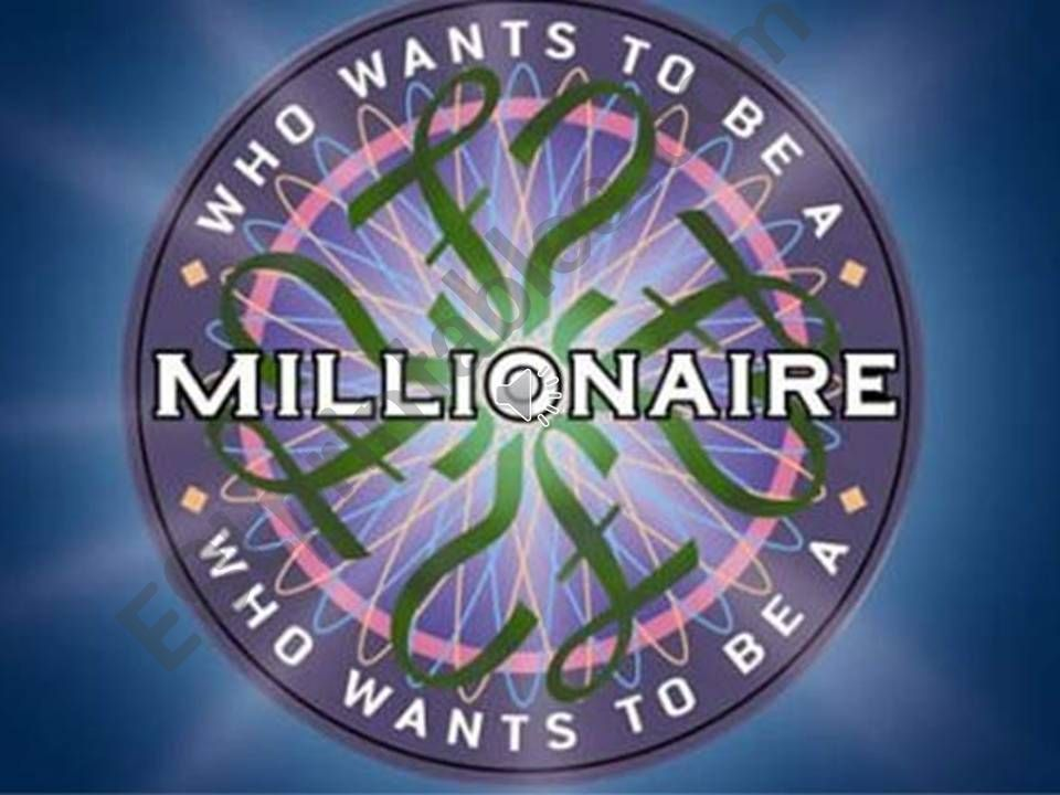 Who Wants To Be a Millionnaire - American English vs British English