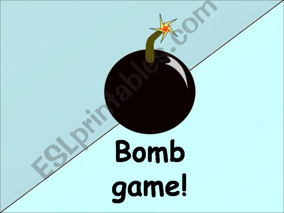 Bomb Game - Synonyms and Antonyms