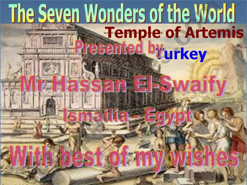 Wonders of the World powerpoint
