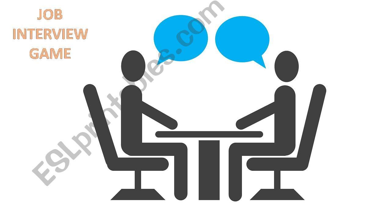 Job interview game powerpoint