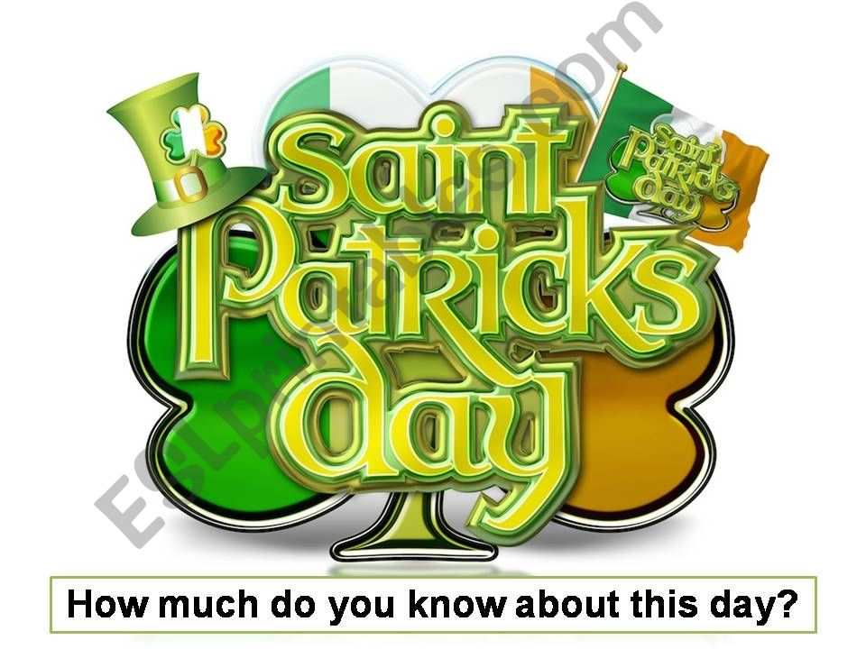 St. Patrick´s Day Quiz powerpoint