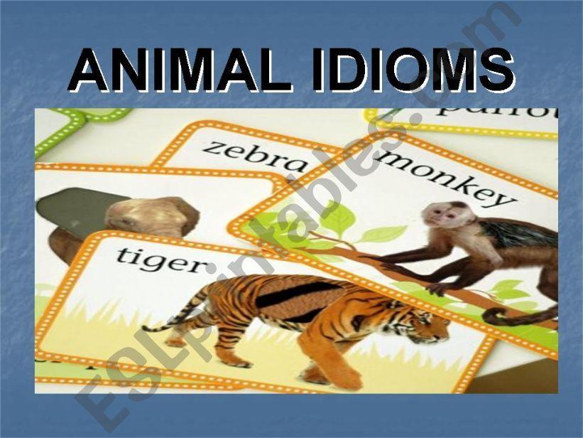 how to teach idioms in a fun way