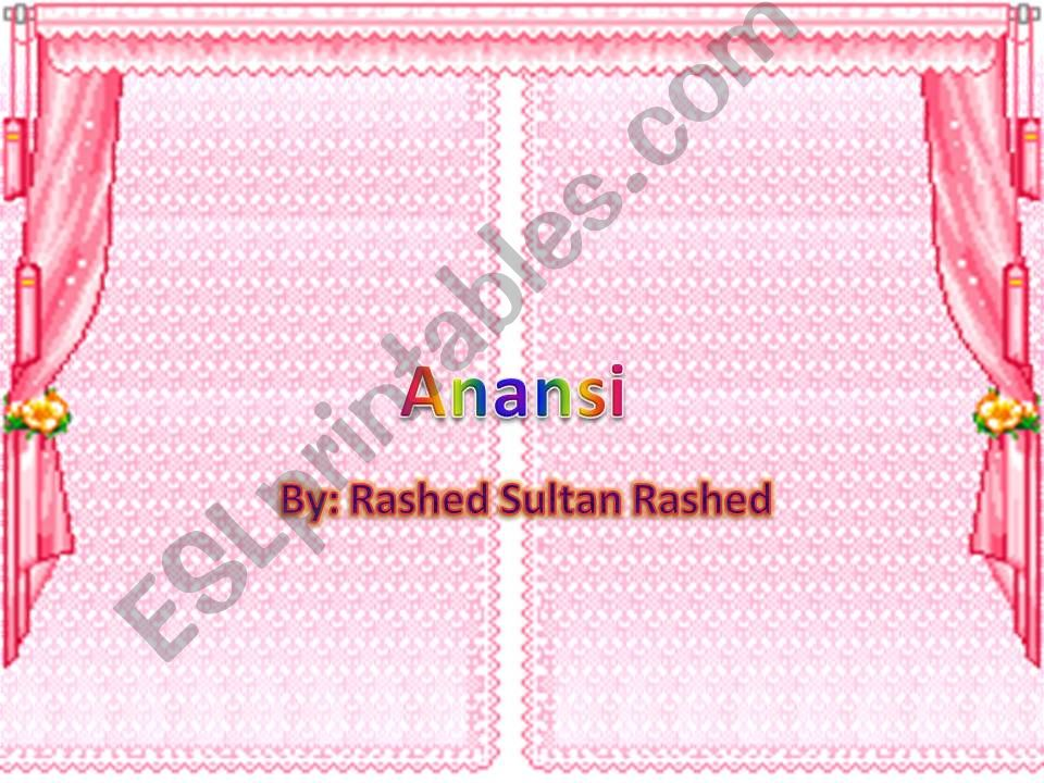 This is a graphic of Printable Anansi Stories with regard to comprehension