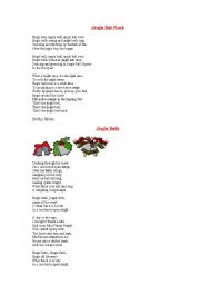 English Worksheet: Christmas songs