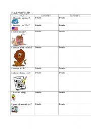 English Worksheets: Have you ever...