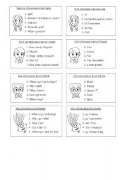 English Worksheets: pair Work