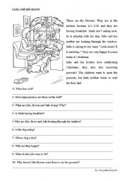The Browns - ESL worksheet by alerac