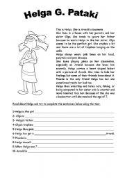 math worksheet : english exercises reading comprehension superlatives ...