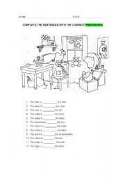 English Worksheets: place_prepositions