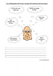 English Worksheets: Habits in the past