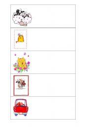 English Worksheets: Cards