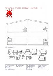 English teaching worksheets The house