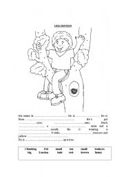 English Worksheets: COMPLETE THE TEXT