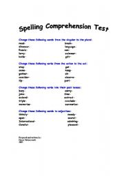 changing from the singular to the plural worksheet singular to plural ...