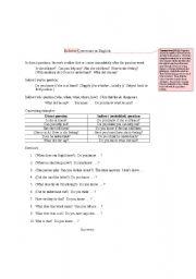 English Worksheet: Indirect Questions Grammar