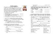 English Worksheets: Biography of a famous person