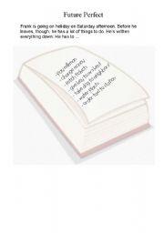 English Worksheet: Future Perfect Worksheet