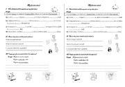 English Worksheets: My favorite animal