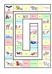 English Worksheets: Animal game