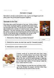English Worksheets: Ramadan Booklet