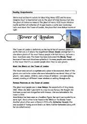 English Worksheets: Reading Comprehension Activity and follow up activity about Henry the VIII