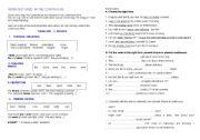 English worksheet: STATIVE VERBS