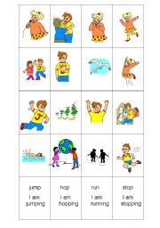 English Worksheets: act�on memory