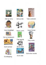 English Worksheets: Activities and getting in touch with DOES