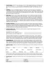 English Worksheets: fun filler 5