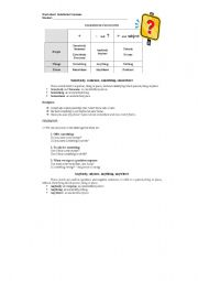English Worksheet: Indefinite pronouns - explanation and exercises