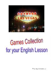 English Worksheet: GAMES COLLECTION for your English lesson
