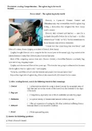English Worksheets: The ugliest dog in the world - reading comprehension