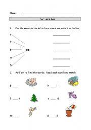 English Worksheet: Long vowel phoneme: �ee�