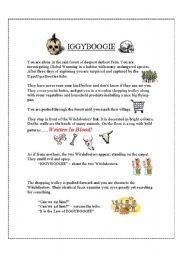English Worksheets: iggieboogie