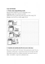 English Worksheets: Lipo and Dominik