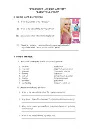 English Worksheets: FILM: RAISE YOUR VOICE