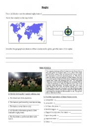 English Worksheet: Rugby questionnaire