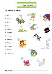 English Worksheets: I  know  everything