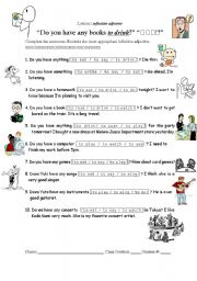 Worksheets Gerund Phrase Worksheet infinitive as a adjectival phrase