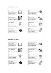 English Worksheets: practice it is / it is not